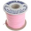 Vinyl Lacing Flat 100yds Pink